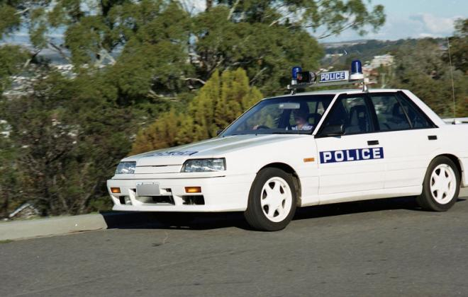 Nissan Skyline R31 GTS2 Tasmanian Police cars SVD 1990 (3).jpg