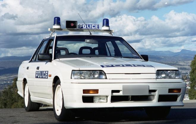 Nissan Skyline R31 GTS2 Tasmanian Police cars SVD 1990 (2).jpg