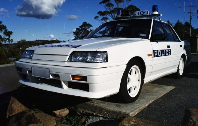 Nissan Skyline R31 GTS2 Tasmanian Police cars SVD 1990 (6).jpg