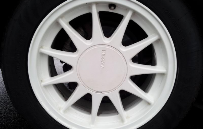 Nissan Skyline Silhouette R31 GTS1 SVD White 17 inch wheels white.png