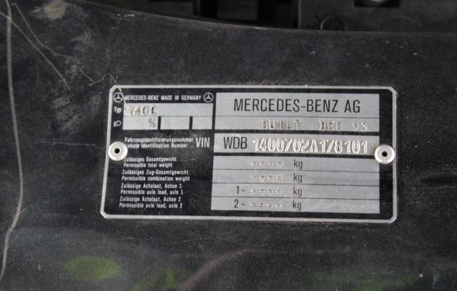 Onyx Grey Mercedes 140 coupe images Australia 2020 auction (11).jpg