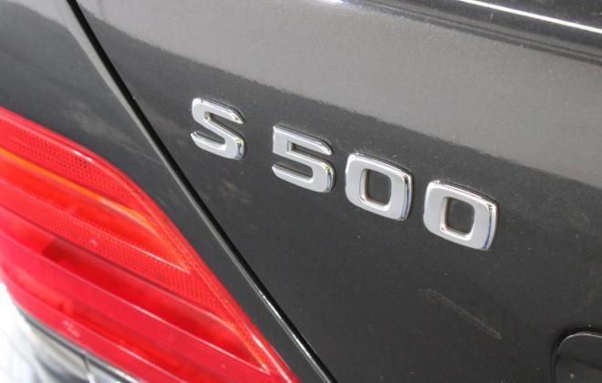 Onyx Grey Mercedes 140 coupe images Australia 2020 auction (19).jpg