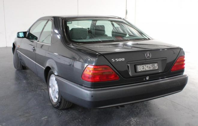 Onyx Grey Mercedes 140 coupe images Australia 2020 auction (8).jpg