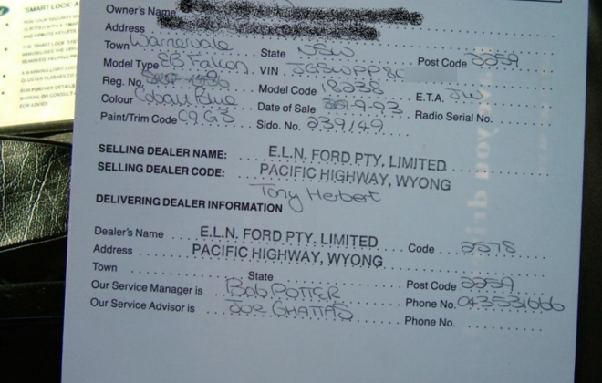 Original EB Ford Facon GT sale receipt.png