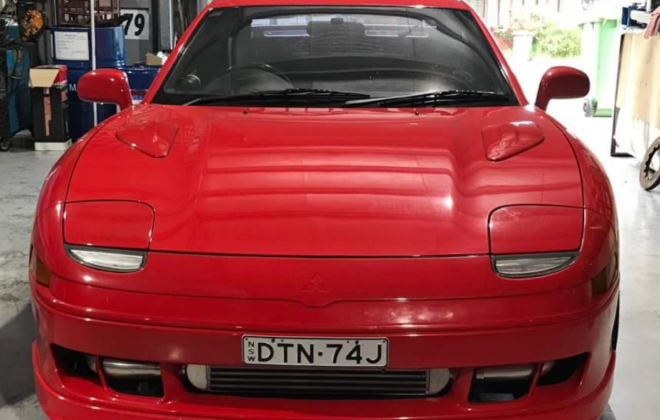 Passion Red 1993 Mitsubishi 3000 GT coupe hatch images Australia (2).png