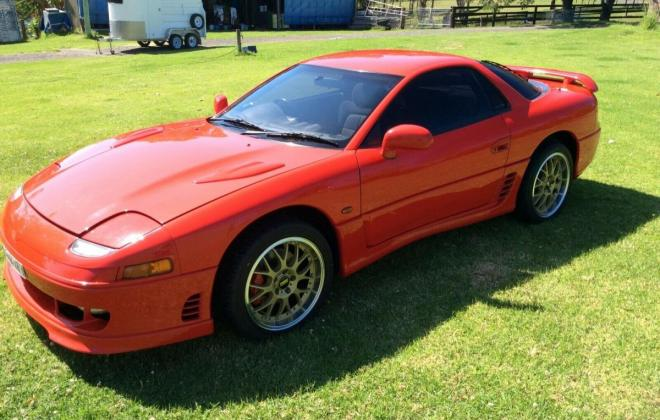 Passion Red 1993 Mitsubishi 3000 GT coupe hatch images Australia (3).jpg