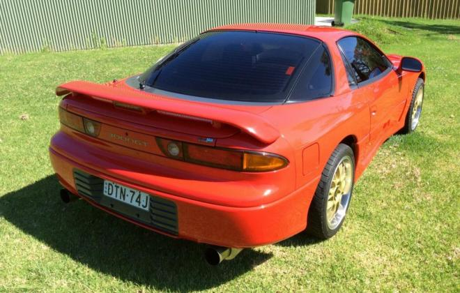 Passion Red 1993 Mitsubishi 3000 GT coupe hatch images Australia (4).jpg
