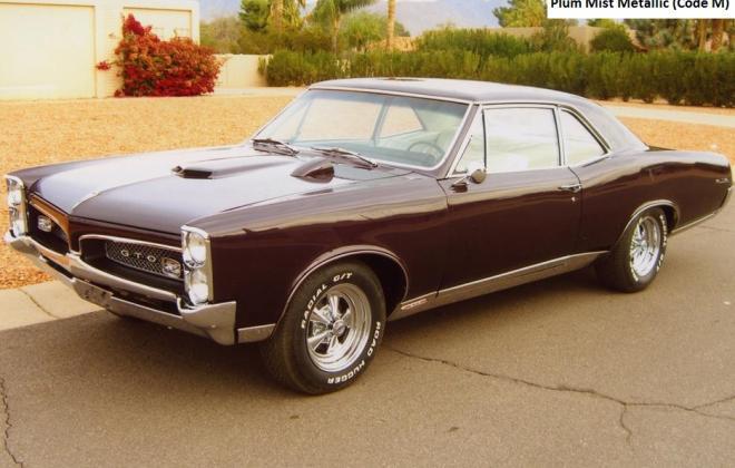 Plum Mist Metallic 1967 Pontiac GTO.jpg