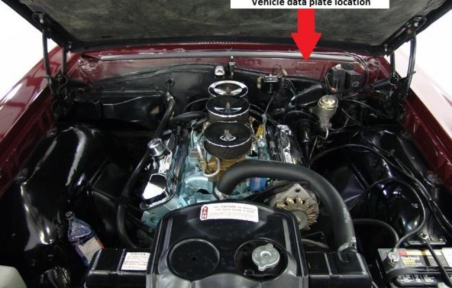 Pontiac GTO vehicle data plate location.jpg