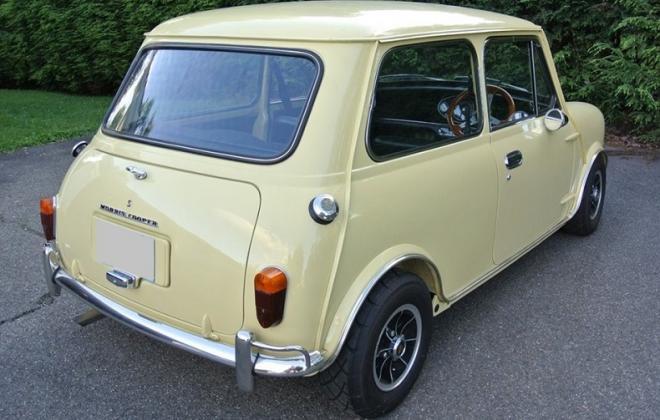 Primrose Yellow Morris Cooper S MK2.jpg