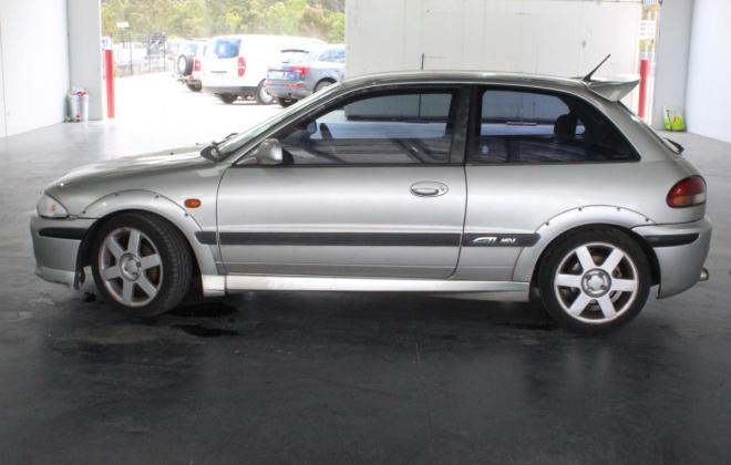 Proton Satria GTi Australia silver images 2003 model hatch unrestored (7).jpg
