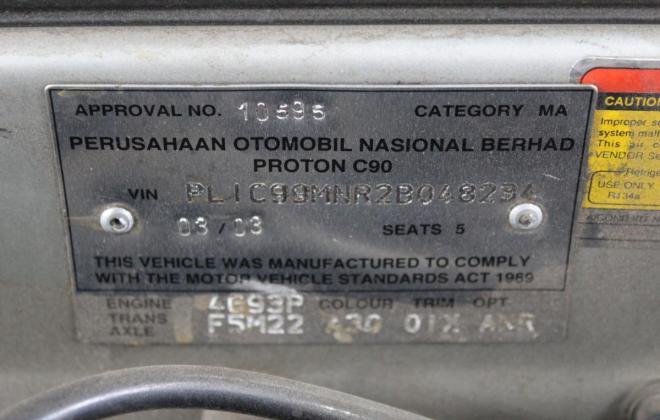 Proton Satria GTi Australia silver images 2003 model hatch unrestored (9).jpg