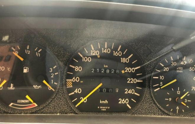Purple blue colour 1989 Mercedes 560SEC images black leather trim (5).jpg