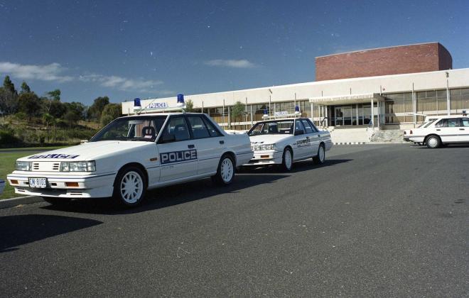R31 Skyline Silhouette GTS Australian Tasmanian police car GTS1 SVD 1988 (5).jpg