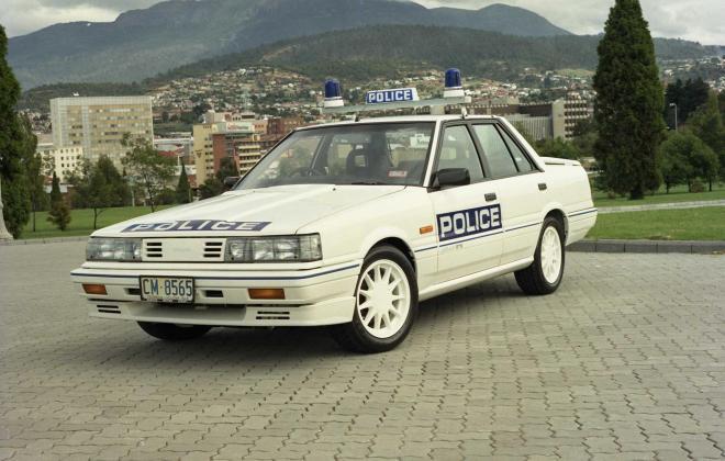 R31 Skyline Silhouette GTS Australian Tasmanian police car GTS1 SVD 1988 (6).jpg
