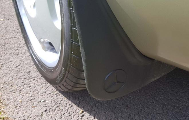 Rare C140 Mercedes rear mudflap.jpg