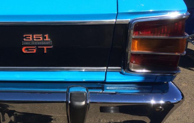Rear badge 351 High Performance GT XW GT.JPG