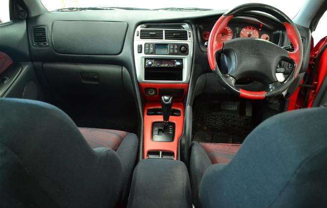 Red Ralliart Mitsubishi Magna 2002 build number unknown images (13).jpg