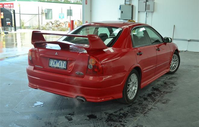 Red Ralliart Mitsubishi Magna 2002 build number unknown images (5).jpg