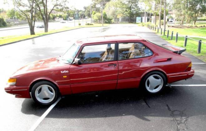 Saab 900 Aero Turbo S Red paint Australia Combi Coupe 1988 (1).JPG
