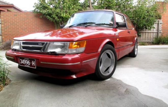Saab 900 Aero Turbo S Red paint Australia Combi Coupe 1988 (2).JPG