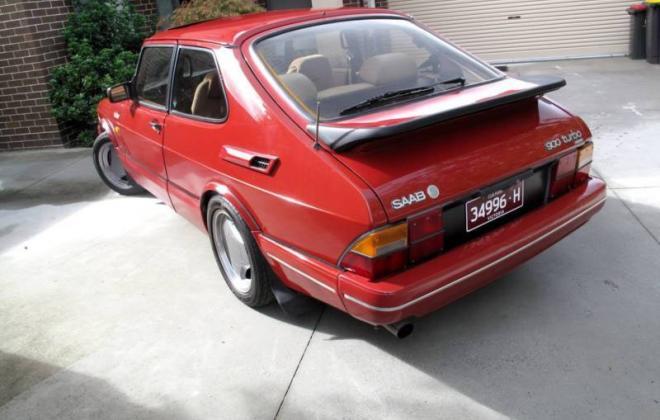Saab 900 Aero Turbo S Red paint Australia Combi Coupe 1988 (3).JPG