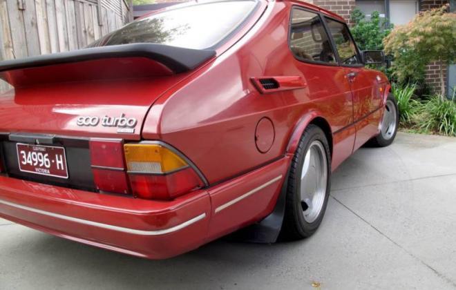 Saab 900 Aero Turbo S Red paint Australia Combi Coupe 1988 (4).JPG