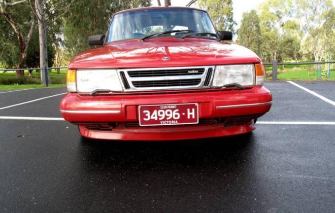Saab 900 Aero Turbo S Red paint Australia Combi Coupe 1988 (5).JPG