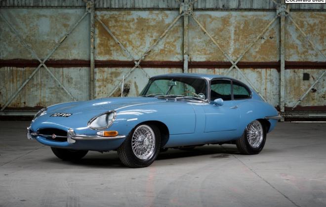 Series 1 E-Type Jaguar XKE Cotswald Blue paint.png