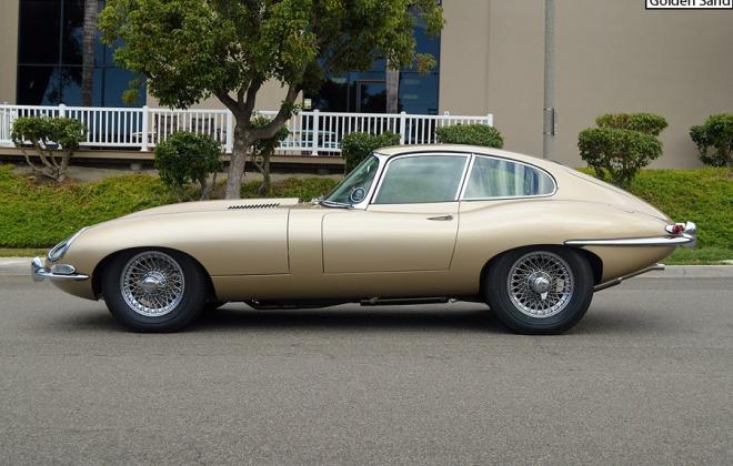 Series 1 E-Type Jaguar XKE Golden Sand Paint.png