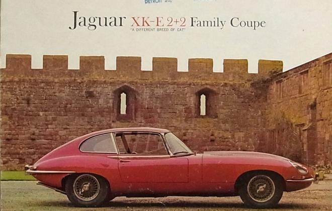Series 1 Jaguar E-Type XK-E brochure advertisement original promotion material  (10).jpg