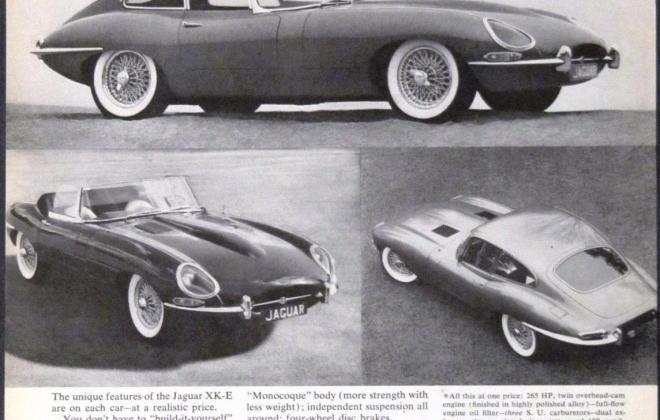 Series 1 Jaguar E-Type XK-E brochure advertisement original promotion material  (12).jpg