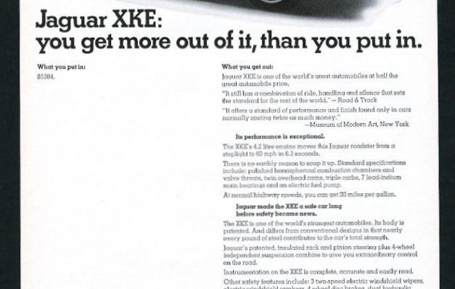 Series 1 Jaguar E-Type XK-E brochure advertisement original promotion material  (13).jpg