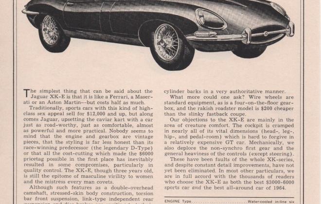 Series 1 Jaguar E-Type XK-E brochure advertisement original promotion material  (14).jpg
