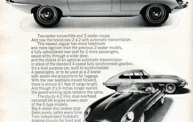 Series 1 Jaguar E-Type XK-E brochure advertisement original promotion material  (16).jpg