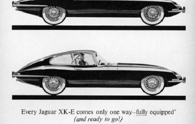 Series 1 Jaguar E-Type XK-E brochure advertisement original promotion material  (17).jpg