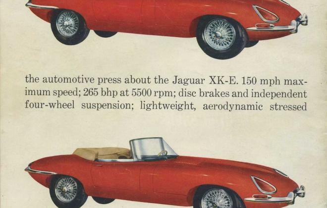 Series 1 Jaguar E-Type XK-E brochure advertisement original promotion material  (3).jpg