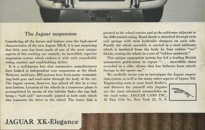 Series 1 Jaguar E-Type XK-E brochure advertisement original promotion material  (6).jpg