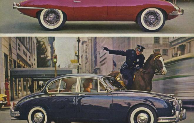 Series 1 Jaguar E-Type XK-E brochure advertisement original promotion material  (7).jpg