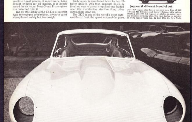Series 1 Jaguar E-Type XK-E brochure advertisement original promotion material  (8).jpg