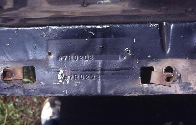 Shelby GT 500 inner guard chassis ID number.jpg