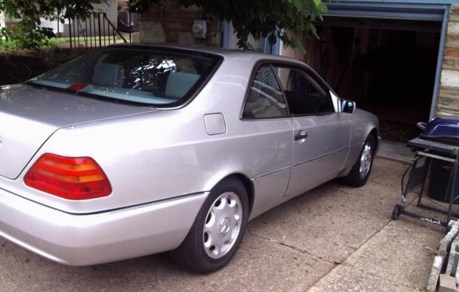 Silver 1996 CL500 S500 coupe C140 images USA (12).jpg