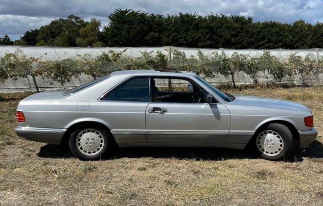 Silver 560SEC Mercedes 1986 Australia images exterior (3).jpg