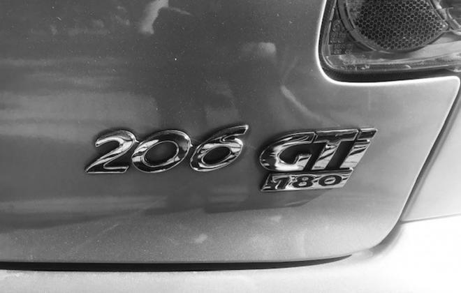 Silver Peugeot 206 GTI 180 Australia images 2021 (6).jpg