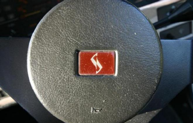 Skyline badge on steering wheel.jpg
