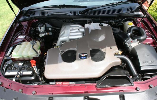 Sparkling Burgundy Metallic Ford Falcon EL GT number 212 of 250 1997 (6).jpg