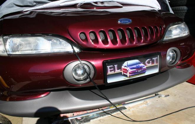 Sparkling Burgundy Metallic Ford Falcon EL GT number 212 of 250 1997 (7).jpg
