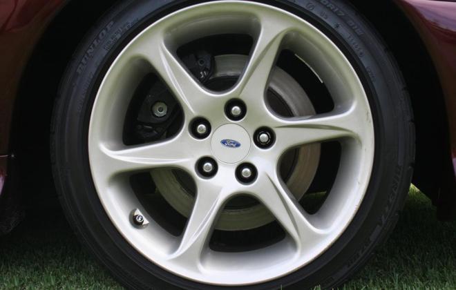 Sparkling Burgundy Metallic Ford Falcon EL GT number 212 of 250 1997 (8).jpg