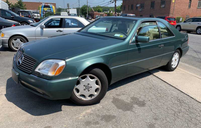 Spruce Green Merceses S500 coupe C140 code 249.png
