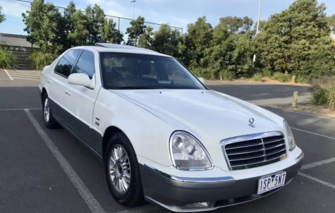 Ssangyong Chairman Sedan Australia White 2020 low ks images (9).png